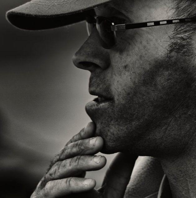 Man in a baseball cap