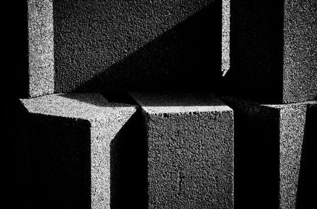 concrete-blocks-sunlit-mono